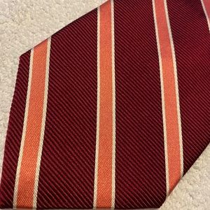 Brand New Corporate Power Tie By BROOKS BROTHERS